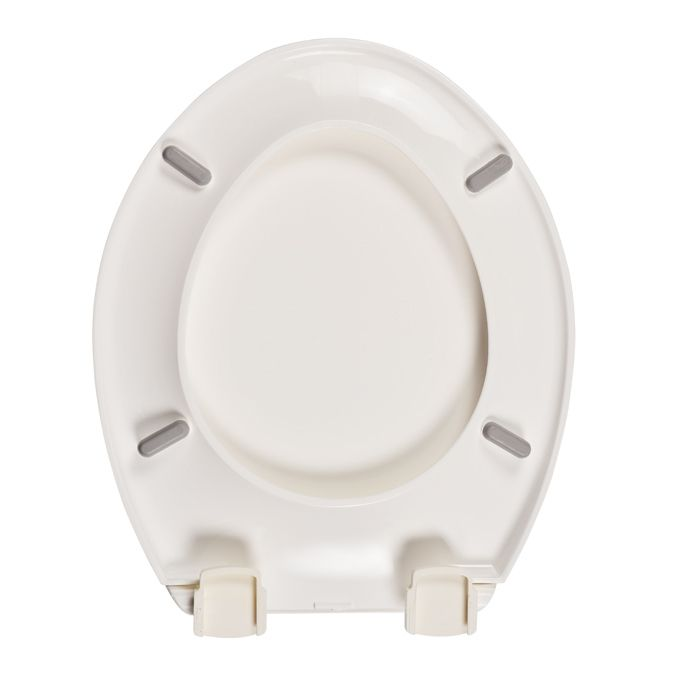 Prime Celmac Sapphire White Toilet Seat Caraccident5 Cool Chair Designs And Ideas Caraccident5Info